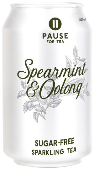 PAUSE for Tea Spearmint and Oolong 330ml