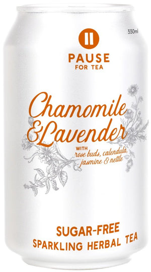 PAUSE for Tea Chamomile and Lavender 330ml