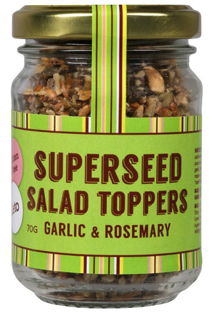 Superseed Salad Toppers Garlic and Rosemary 70gm