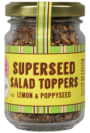 Superseed Salad Toppers Lemon and Poppy Seed 70gm
