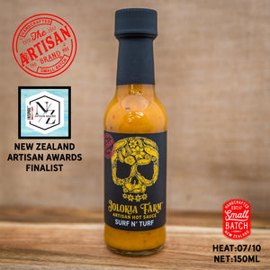 Jolokia Farm Surf 'n' Turf Hot Sauce 150ml