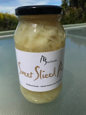 NoShortcuts Sweet Sliced Pickles 550g