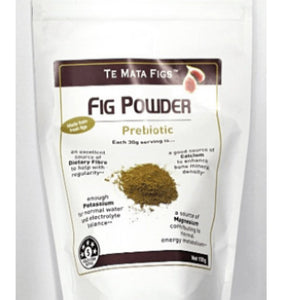 Te Mata dried prebiotic Fig powder 150g