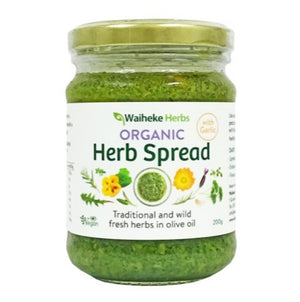 Waiheke Herbs Organic Herb Spread with Garlic 200g