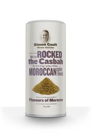 Simon Gault Home Cuisine Moroccan Seasoning 60gm