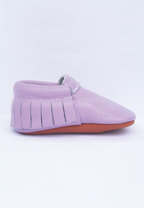 Pearly Lavender Moccasin