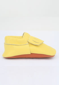 Sunshine Yellow Moccasin