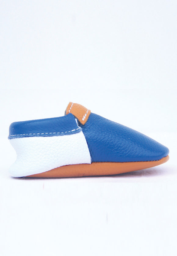 Sport Blue Moccasins Mokksies Baby Shoes