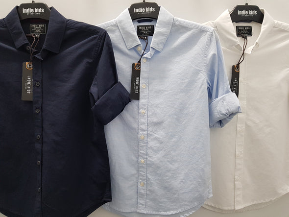 Boys W18 Rickard Shirt by Indie Kids (3 Colours)