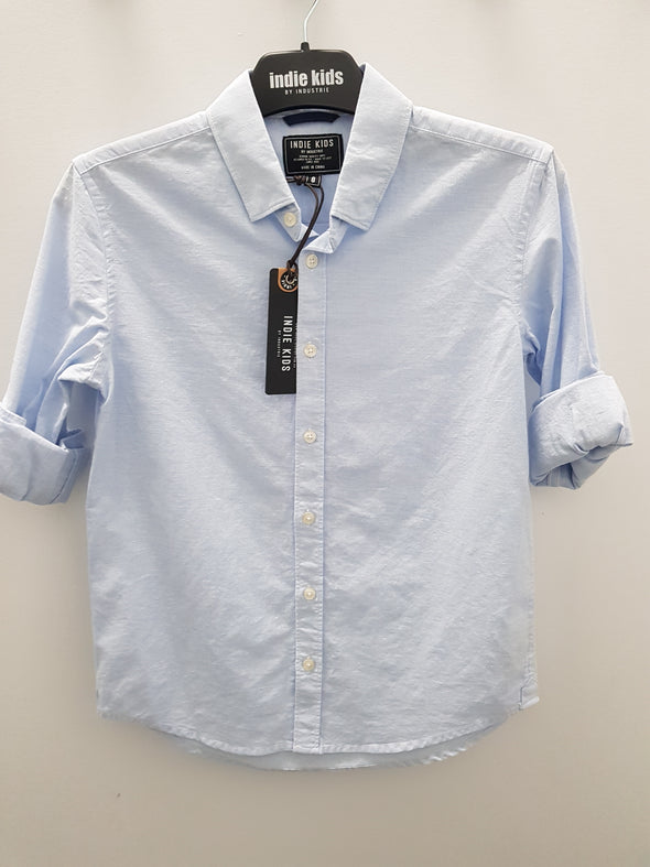 Boys W18 Rickard Shirt by Indie Kids (3 Colours) - Innocence and Attitude