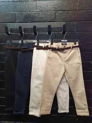 Boys Cuba Stretch Chino Pants by Indie Kids (7 Colours)