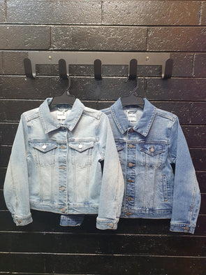 Girls Denim Jacket by Rider by Lee - Innocence and Attitude