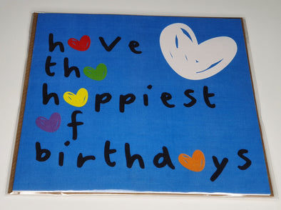 Have the happiest of birthdays cards - Innocence and Attitude
