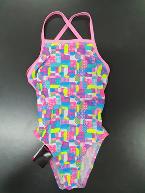 Girls Patched Up One Piece by Funkita - Innocence and Attitude