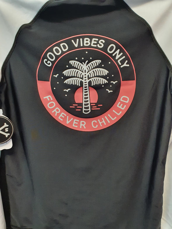 Boys Good Vibes LS Rashie by Alphabet Soup - Innocence and Attitude