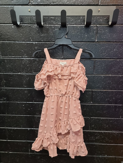 Girls Taylor Frill Dress by Designer Kidz - Innocence and Attitude