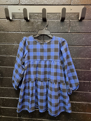 The Tiered Check Dress by Bardot Junior