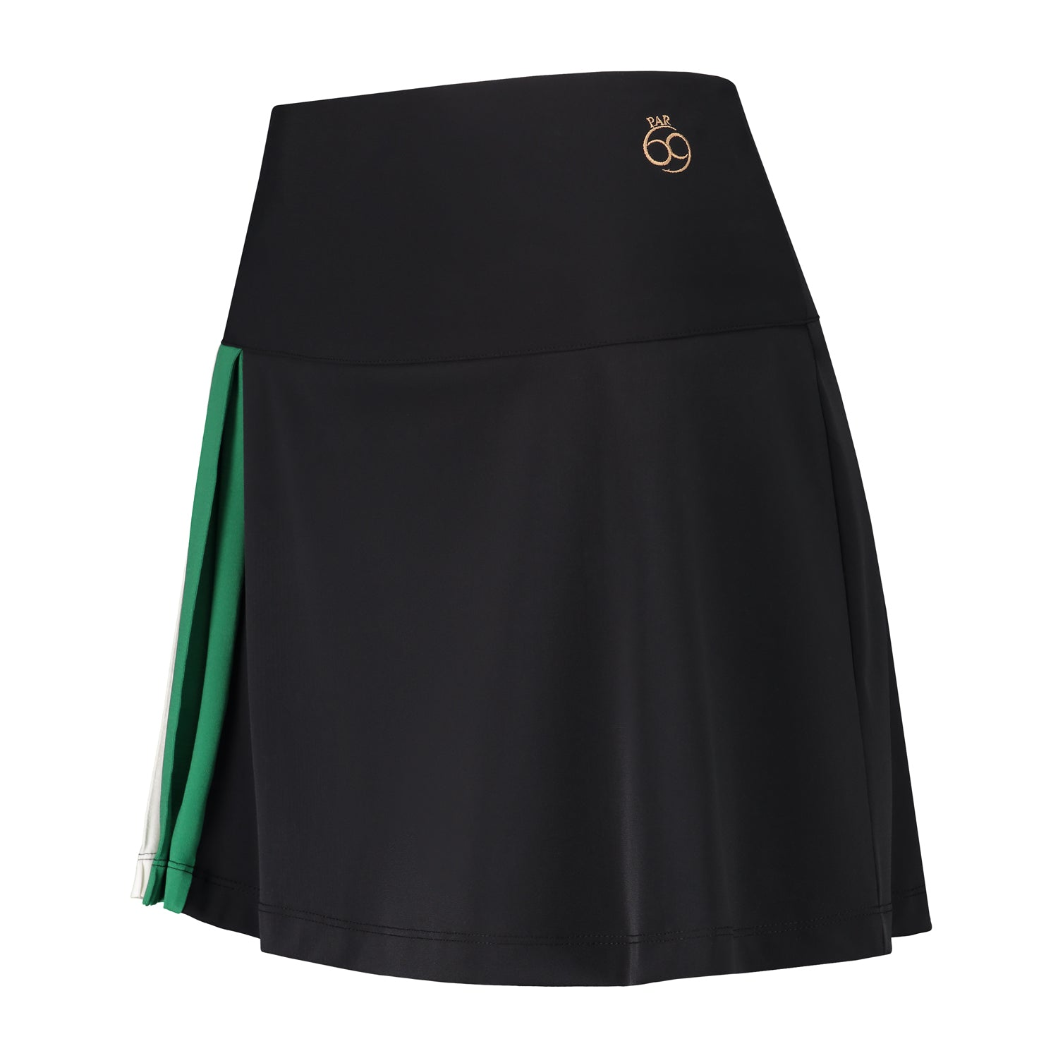 Blair Skirt in black with green