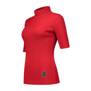 Body Top Turtleneck Red