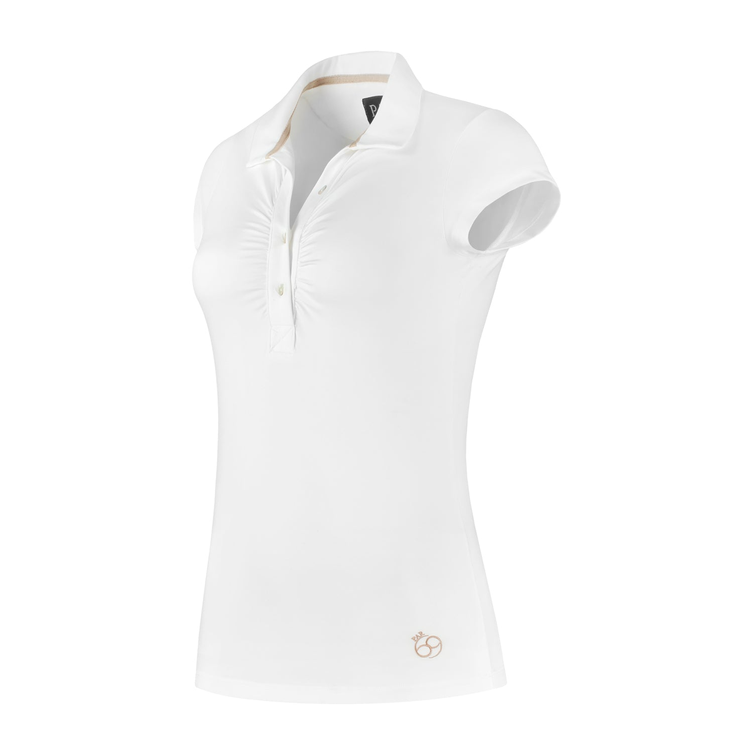 Bien Short Sleeve Polo White