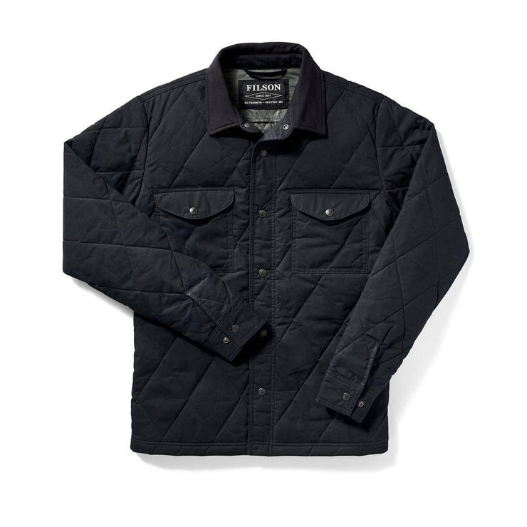 HYDER QUILTED JAC-SHIRT