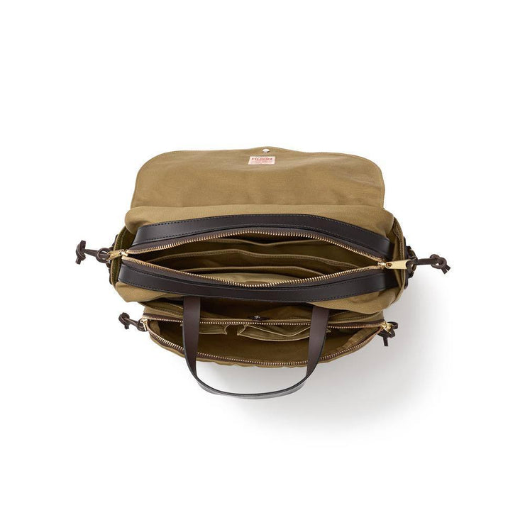 RUGGED TWILL PADDED COMPUTER BAG