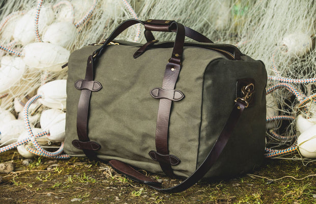MEDIUM RUGGED TWILL DUFFLE BAG