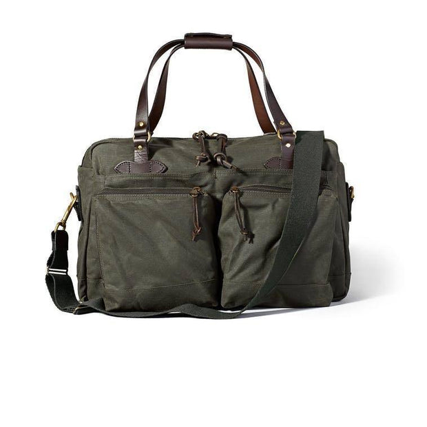 48-HOUR TIN CLOTH DUFFLE BAG