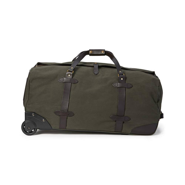 LARGE RUGGED TWILL ROLLING DUFFLE BAG