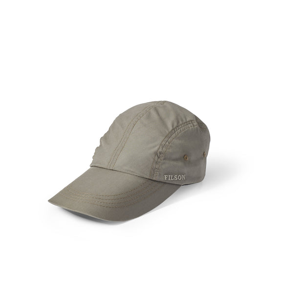FEATHER CLOTH DUCKBILL CAP