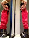 Red Rave Chaps