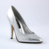 SEDUCE-420V  Silver Faux Leather