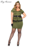 Leg Avenue Commander Cutie 3-Piece Costume 85427X