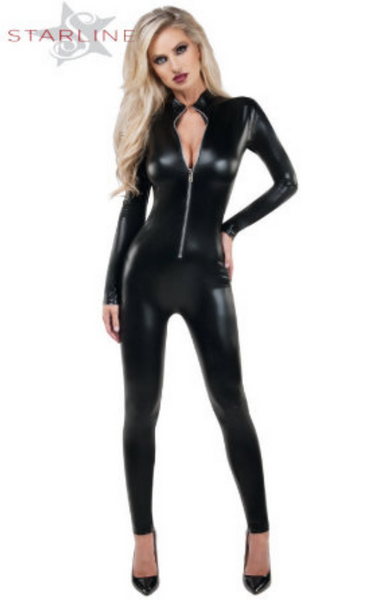 Starline Wet Look Catsuit SLB9037