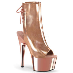 ADORE-1018  Rose Gold Metallic Pu/Rose Gold Chrome
