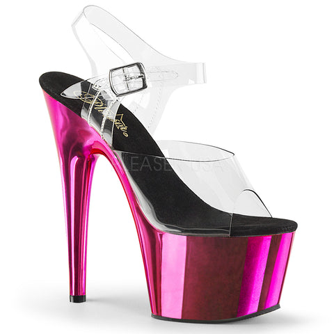 ADORE-708 Clear Chrome Fucsia