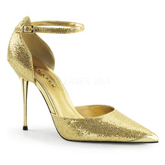 APPEAL-21  Gold Woven Glitter