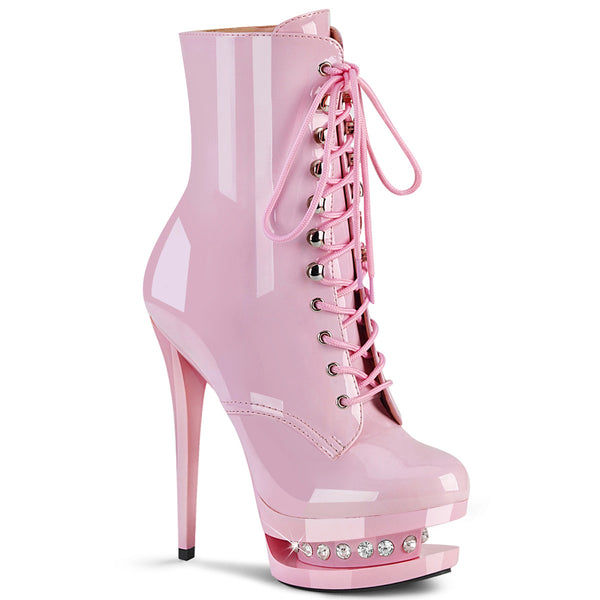 BLONDIE-R-1020  Baby Pink Patent/Baby Pink