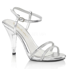 CARESS-416  Silver Metallic Pu/Clear