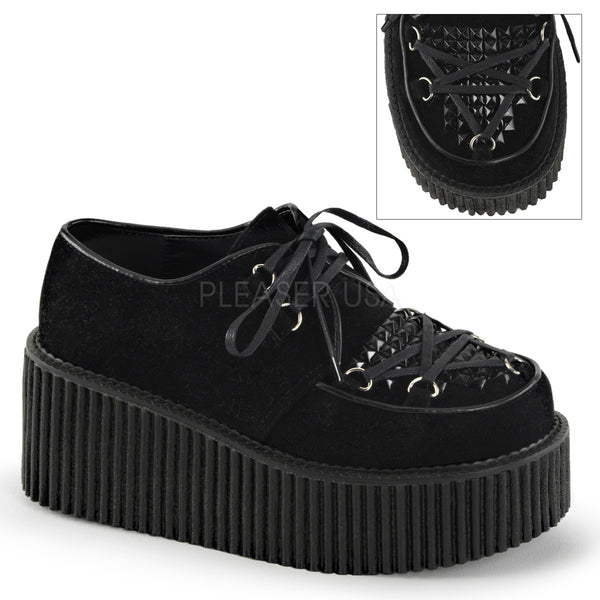 CREEPER-216 Veggie Suede Black