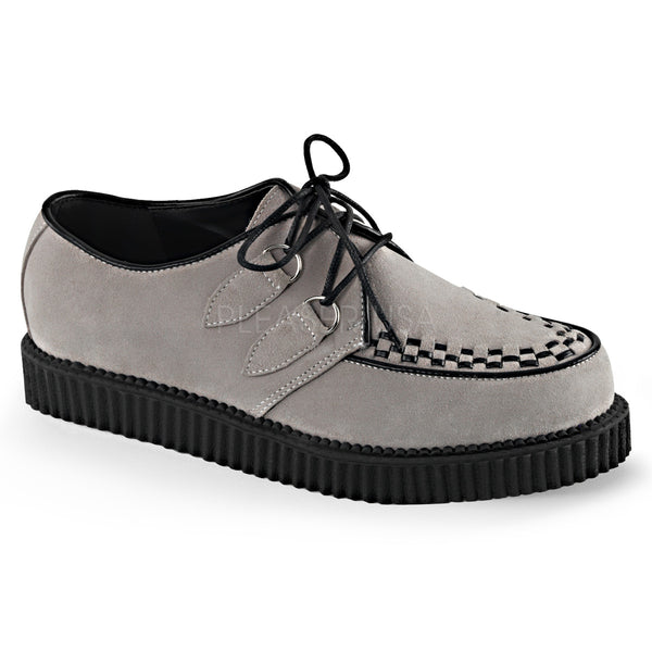 CREEPER-602S  Grey Suede