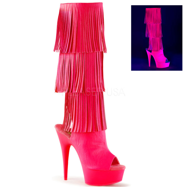 DELIGHT-2019-3 PU Hot Pink Neon