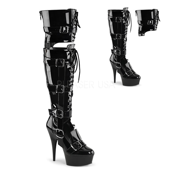 DELIGHT-3068 Black Patent