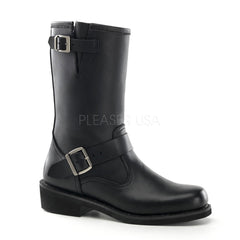 ENGINEER BOOT  Black Leather