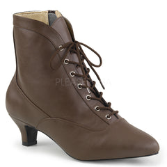 FAB-1005  Brown Faux Leather