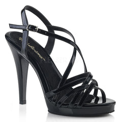FLAIR-413  Black Patent/Black