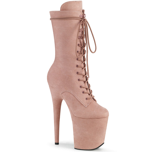 FLAMINGO-1050FS  Dusty Blush Faux  Suede/Dusty Blush Faux Suede