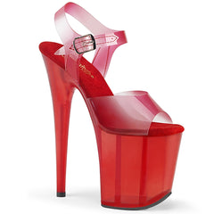 FLAMINGO-808N-T  Red Gradient TPU/Red Tinted