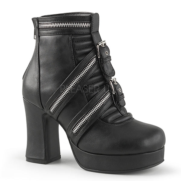 GOTHIKA-50  Black Vegan Leather