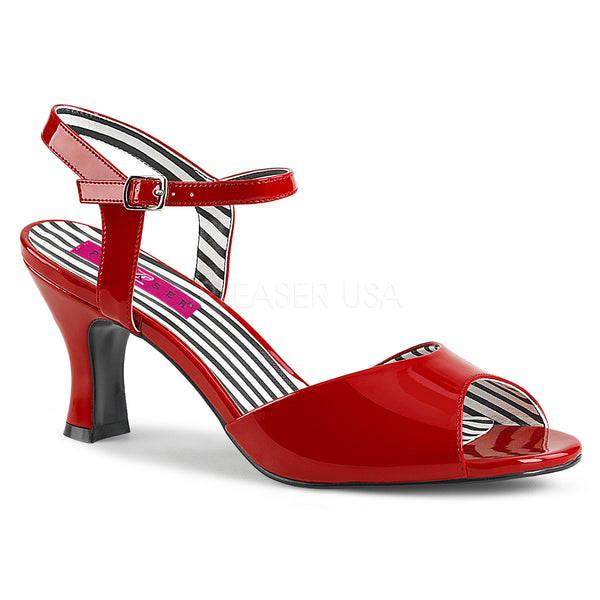 JENNA-09  Red Patent